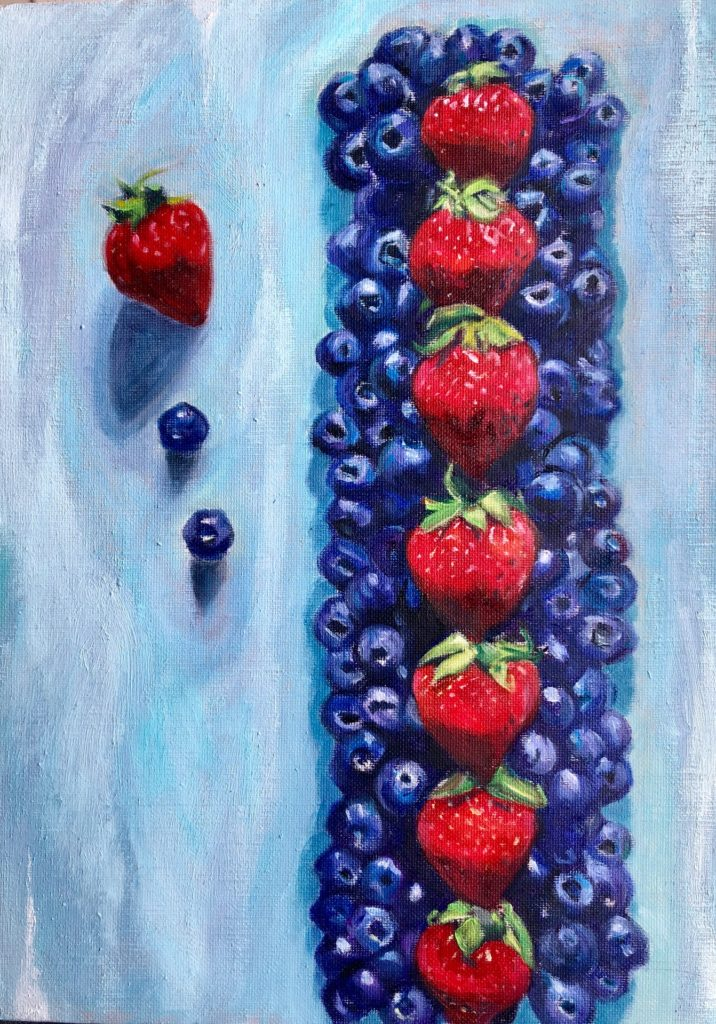 uzura「blueberry cake」