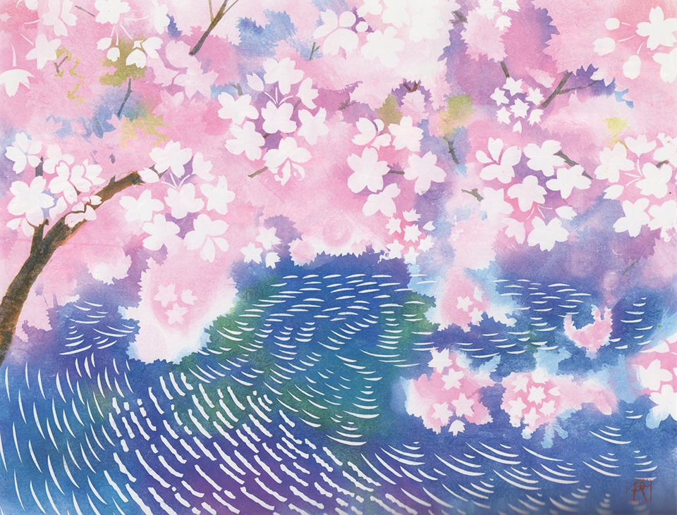 「桜-SAKURA」【No.75】伊砂正幸