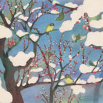 【No.77】伊砂正幸「岳の梅- Plum blossom」