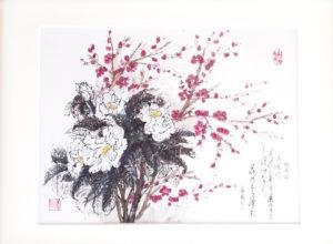 「鳥聲春」【No.93】矢野華風