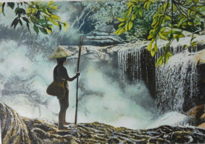絵画レンタル販売 Art beans【No.154】ベトナムにて/七里享司