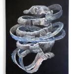 絵画レンタル販売 Art beans【No.185】孤独な夜/エゴウサトシ