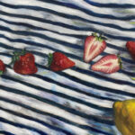 絵画レンタル販売 Art beans【No.193】「檸檬苺」/広田豊子